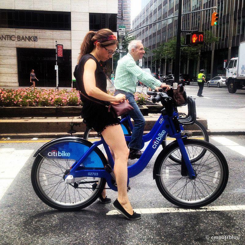 Citi Bikes Bicycle Fashion