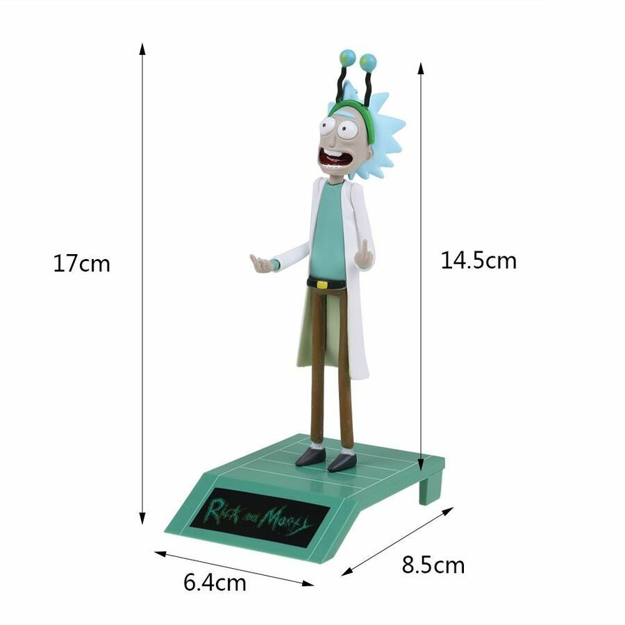 Rick and Morty Figure-Peace Among Worlds-Nerd-Geek-Horror-Loot Crate Toy Gifts