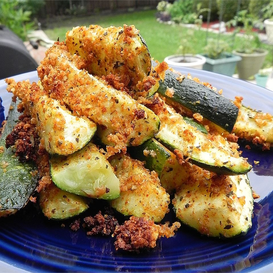 Oven Baked Zucchini Fries