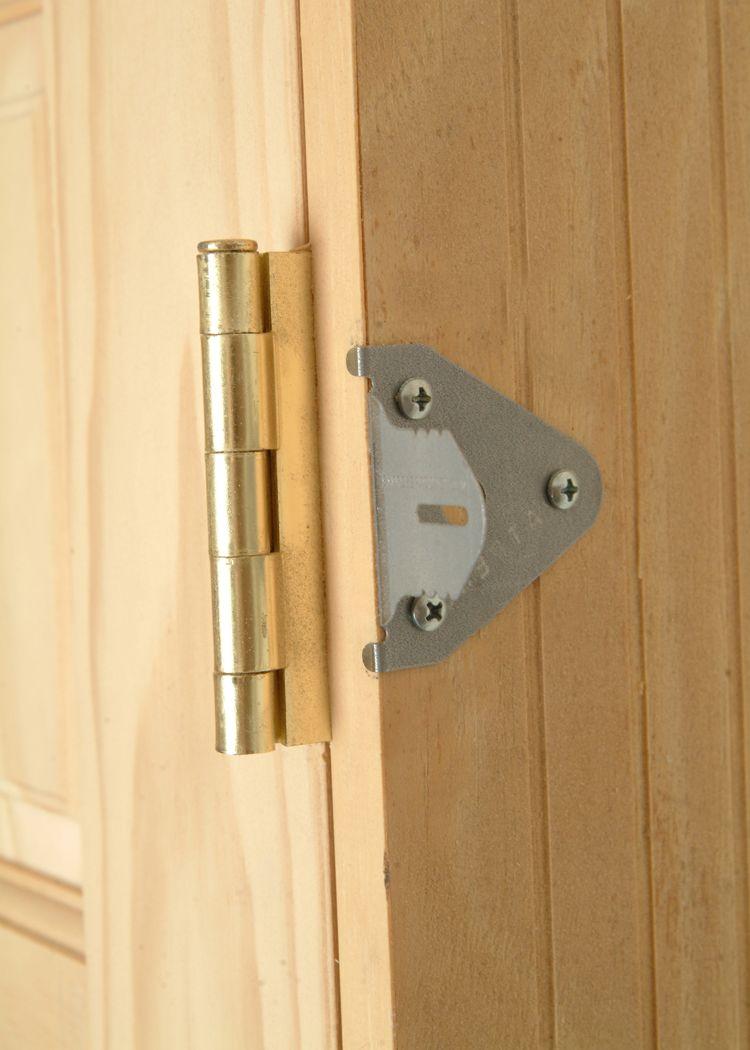 Door Install Brackets Diy Door Installing For How To Replace