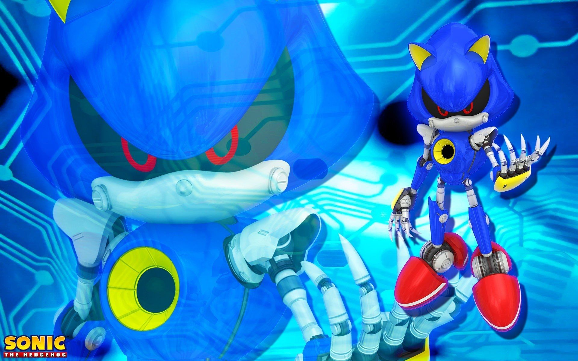 Sonic Sonic The Hedgehog Metal Sonic Wallpaper And Intended For