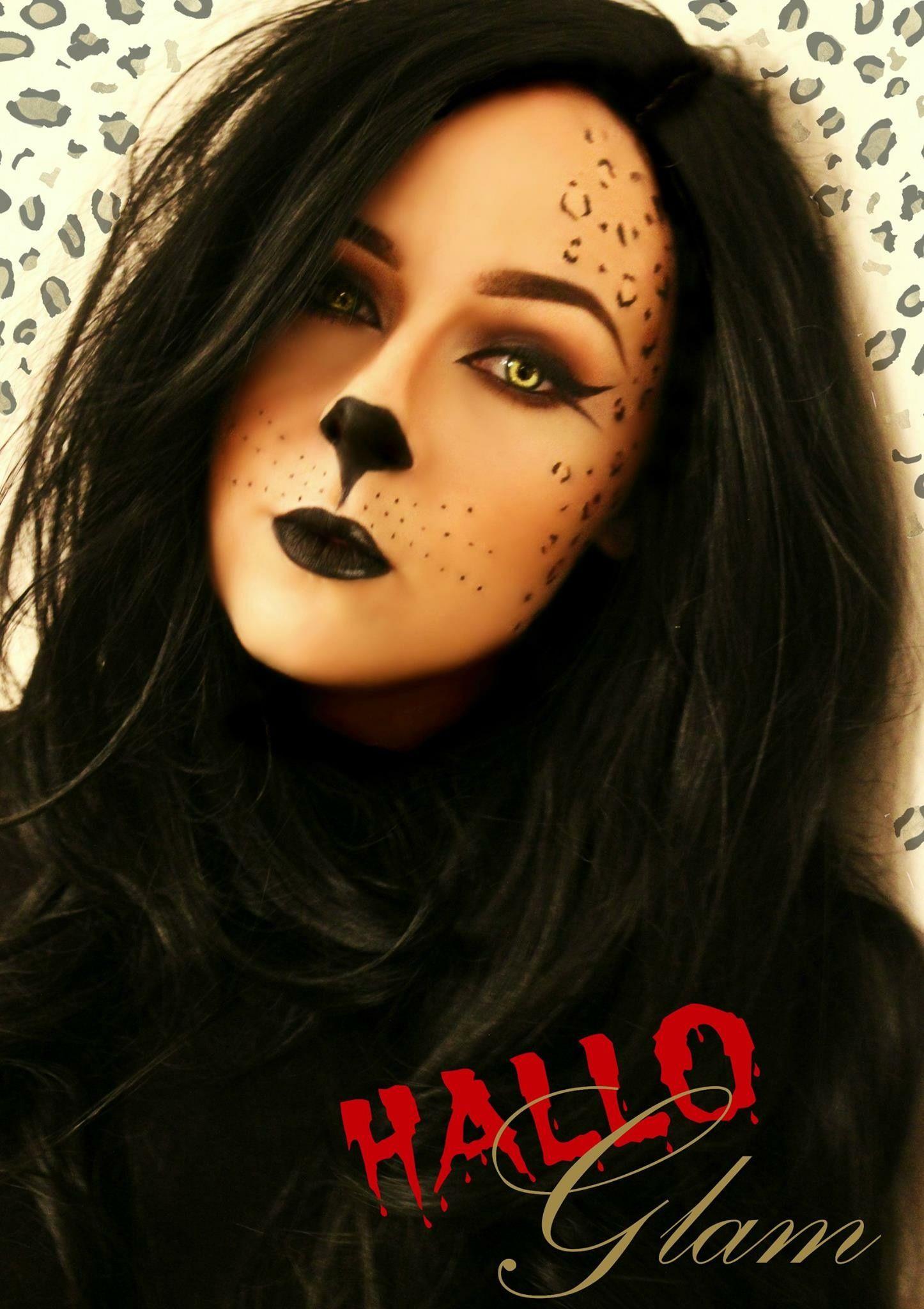 Cougar Halloween Makeup.Pin On Halloween Inspiration