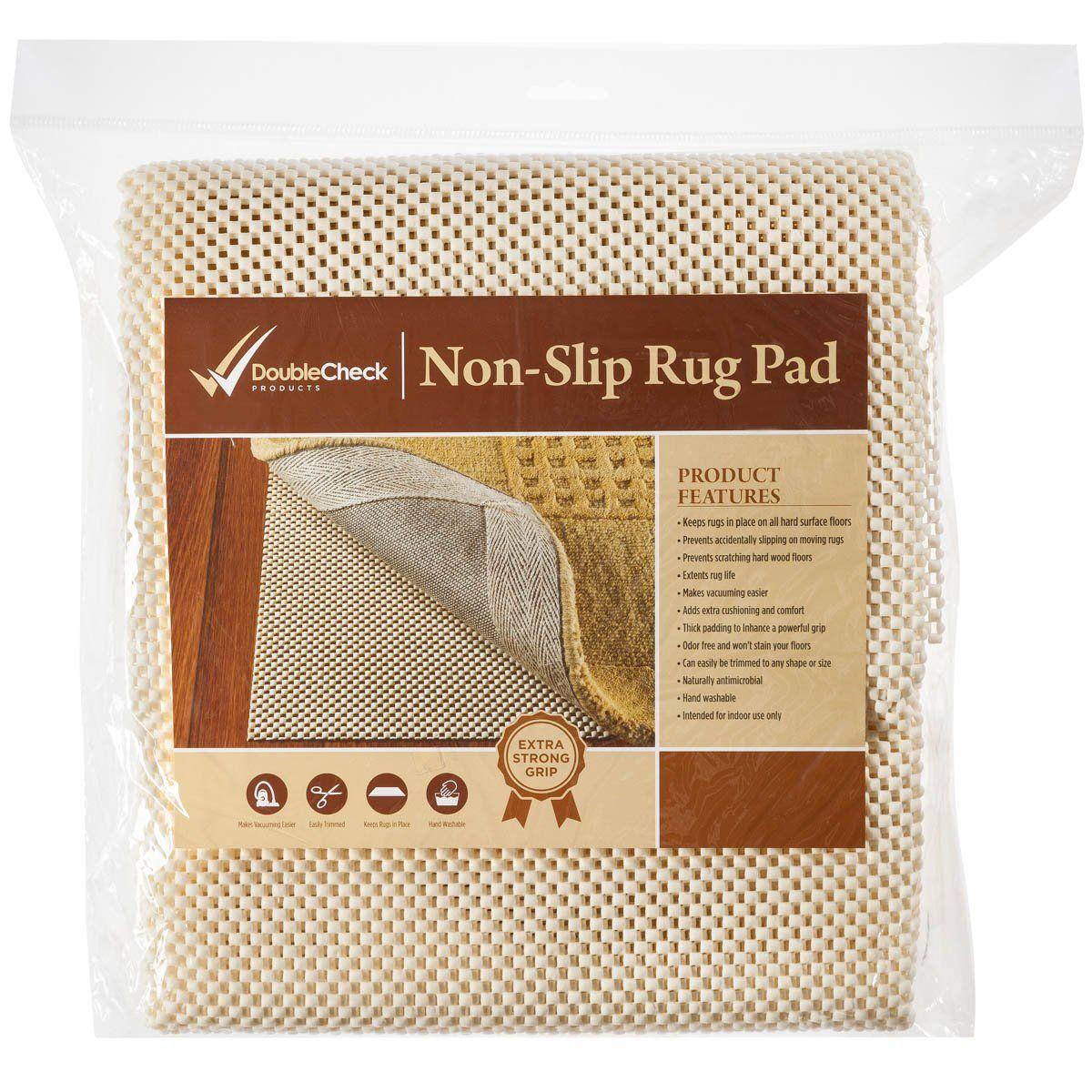Non Slip Rug Pad Size 2 x10 For Runner Rugs On Hardwood ...