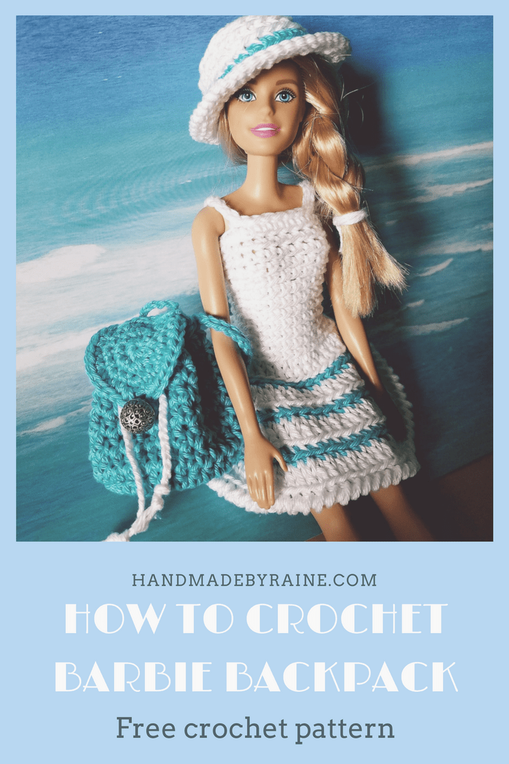 Barbie backpack - HandmadebyRaine