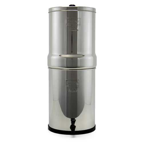 berkey crn8x2-bb crown water purification system with 2 black ...