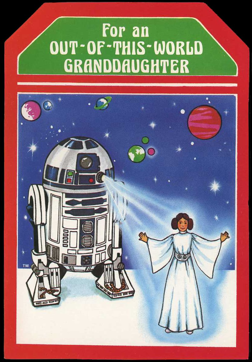 Medium Of Star Wars Christmas Cards
