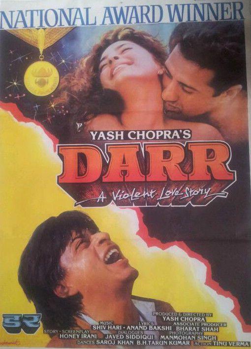 Darr Shahrukh Khan Hindi Film Bollywood Movie Indian Cinema Movie HD free download 720p