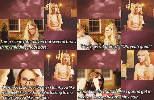 I laughed so hard when she said that! And then slowly fell to the ground and began crying...