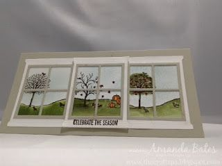 The Craft Spa - Stampin' Up! UK independent demonstrator : Triple Window Autumn Trio