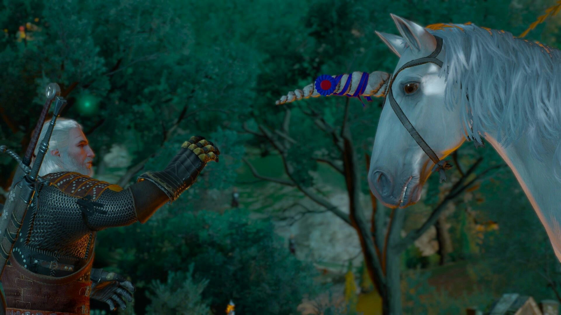 witcher 3 unicorn