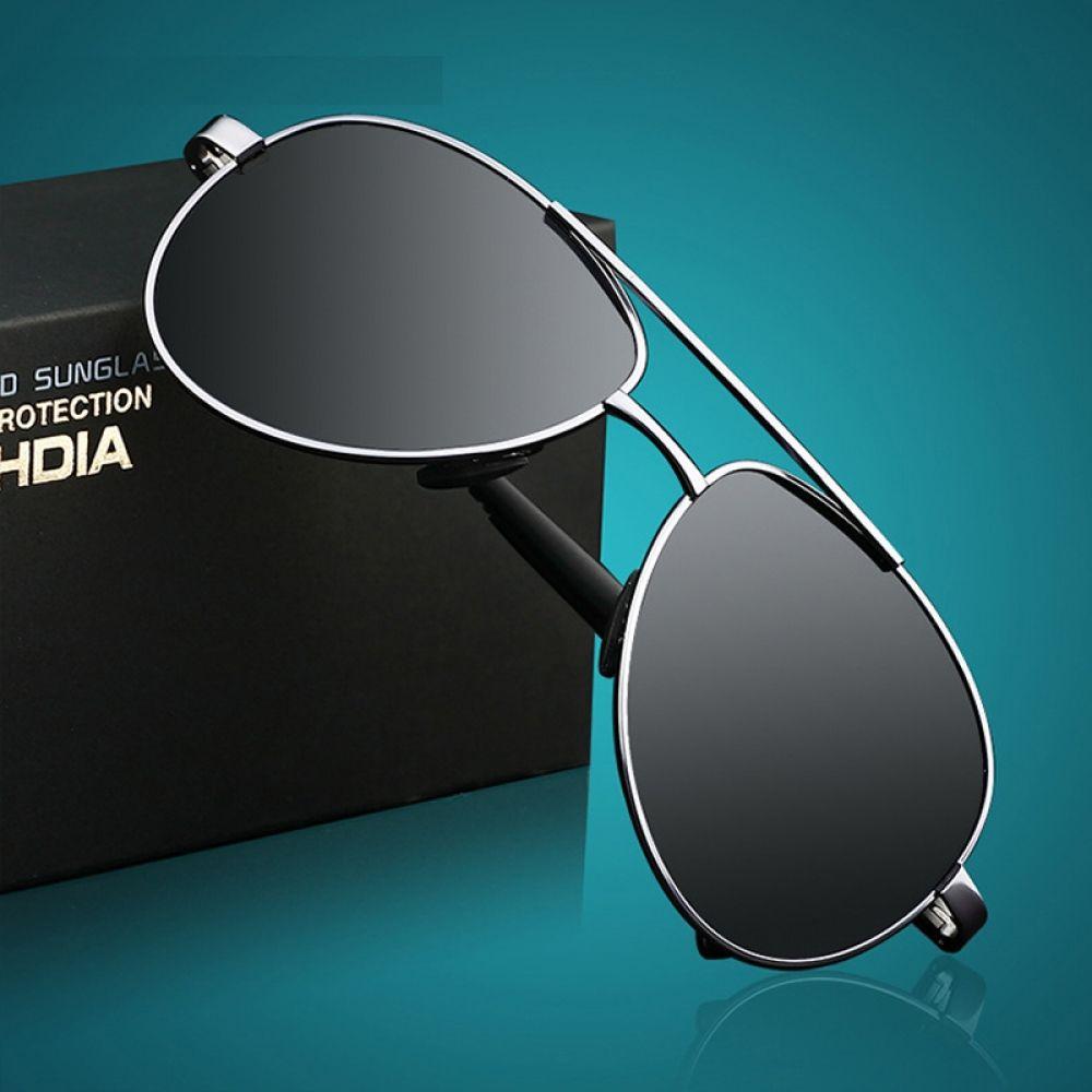 HDCRAFTER Men Classic Polarized Sunglass Men/'s Oversize Sunglasses Polaroid B...