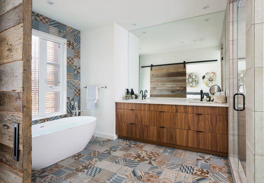 diseño baños rusticos decoracion baños Pinterest