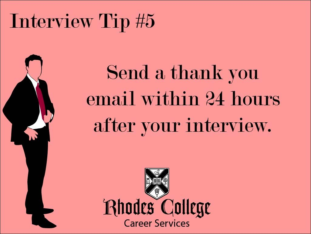 #rhodescollege #career #careeradvice #thankyou #thankyounote #advice # Professionalism #interview