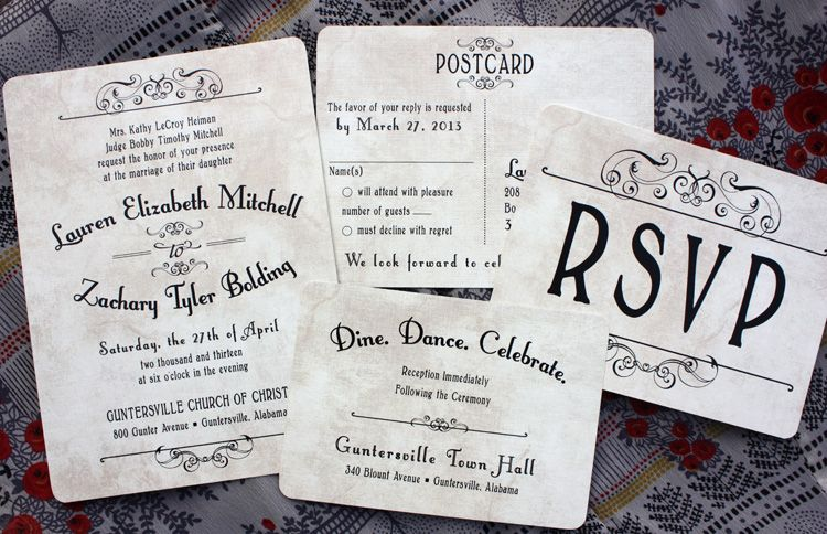 78+ images about Wedding INvitations on Pinterest | Poster styles ...