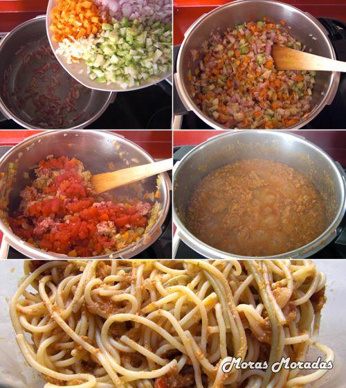 como preparar salsa boloñesa