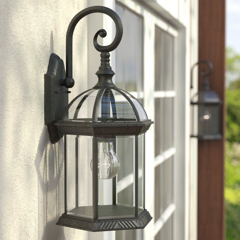 Vannest 1 Light Outdoor Wall Lantern Outdoor Walls Outdoor Lighting Wall Lantern