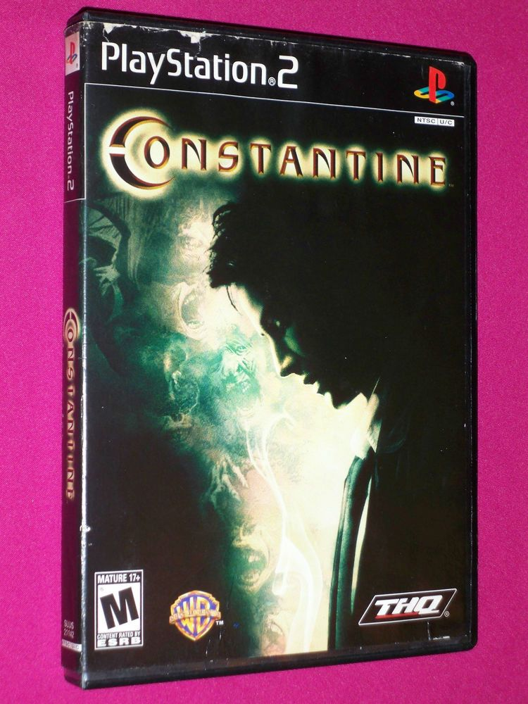 Constantine ps2 video game sony playstation 2 2005