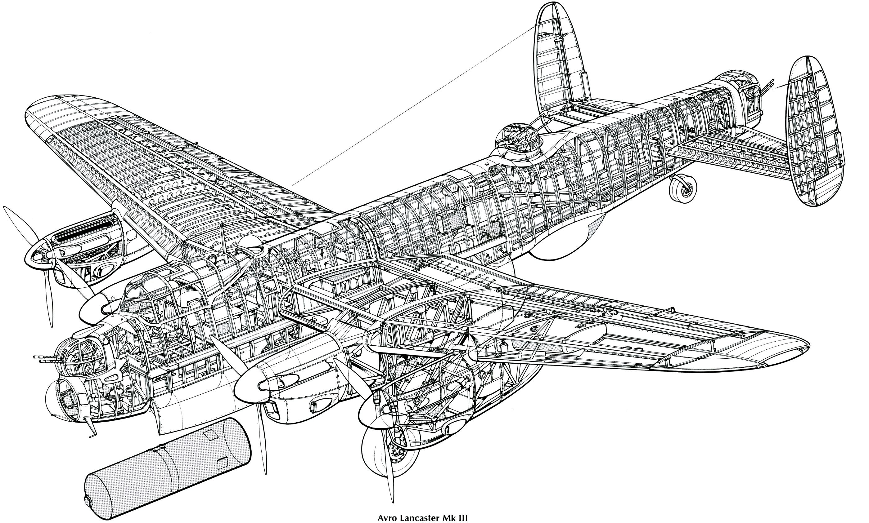 Pin Em Aircraft Clear Cutaways Ww I Ww Ii