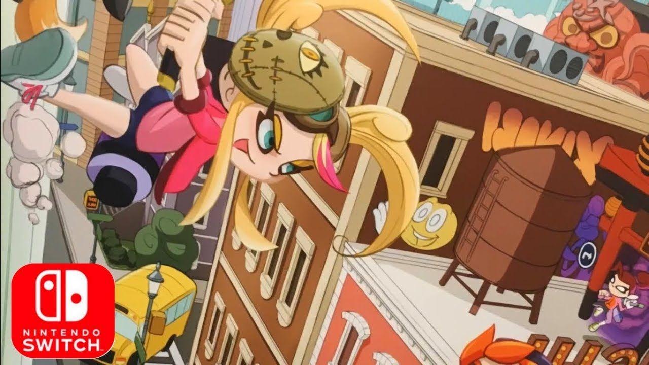 Ninjala Ad for Nintendo Switch E3 2018 HD Game art