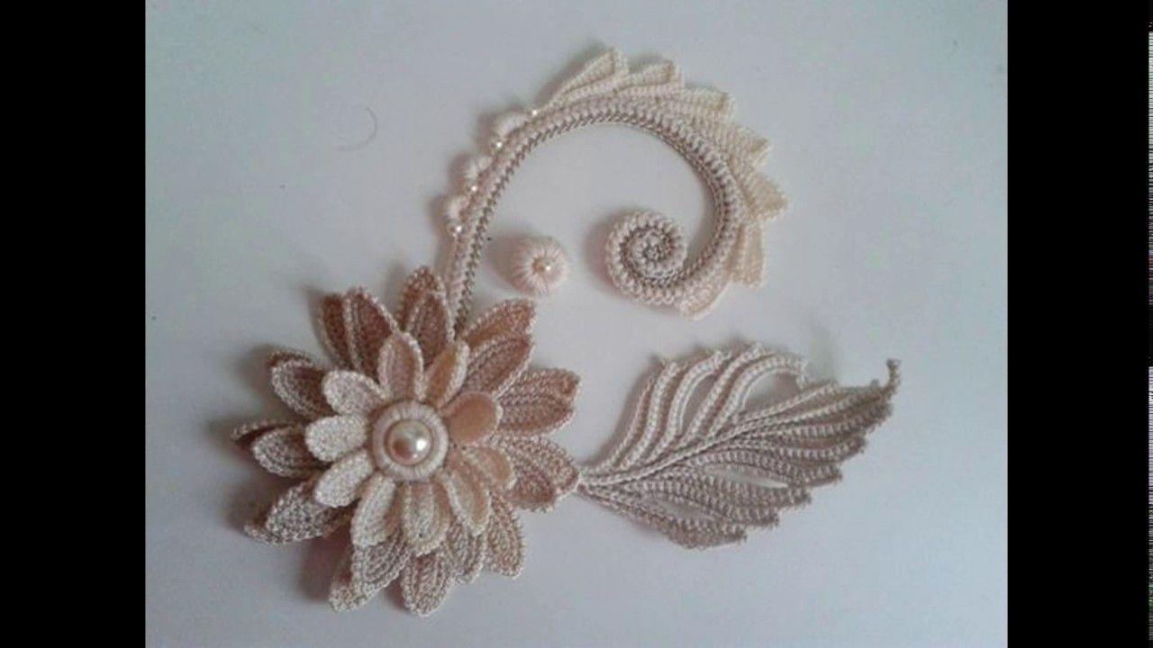 Flores Tejidos a crochet