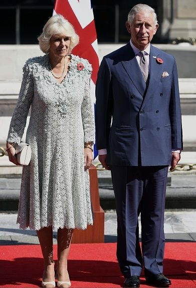 Camilla, Duchess of Cornwall - The Prince of Wales and The Duchess of Cornwall are officially welcomed to Mexico, Mexico City, 03.11.2014