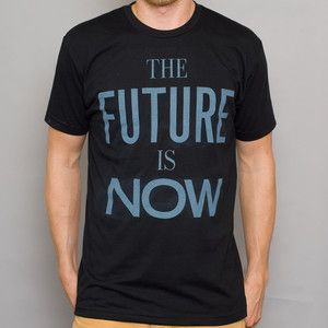 The Future Tee Black now featured on Fab.
