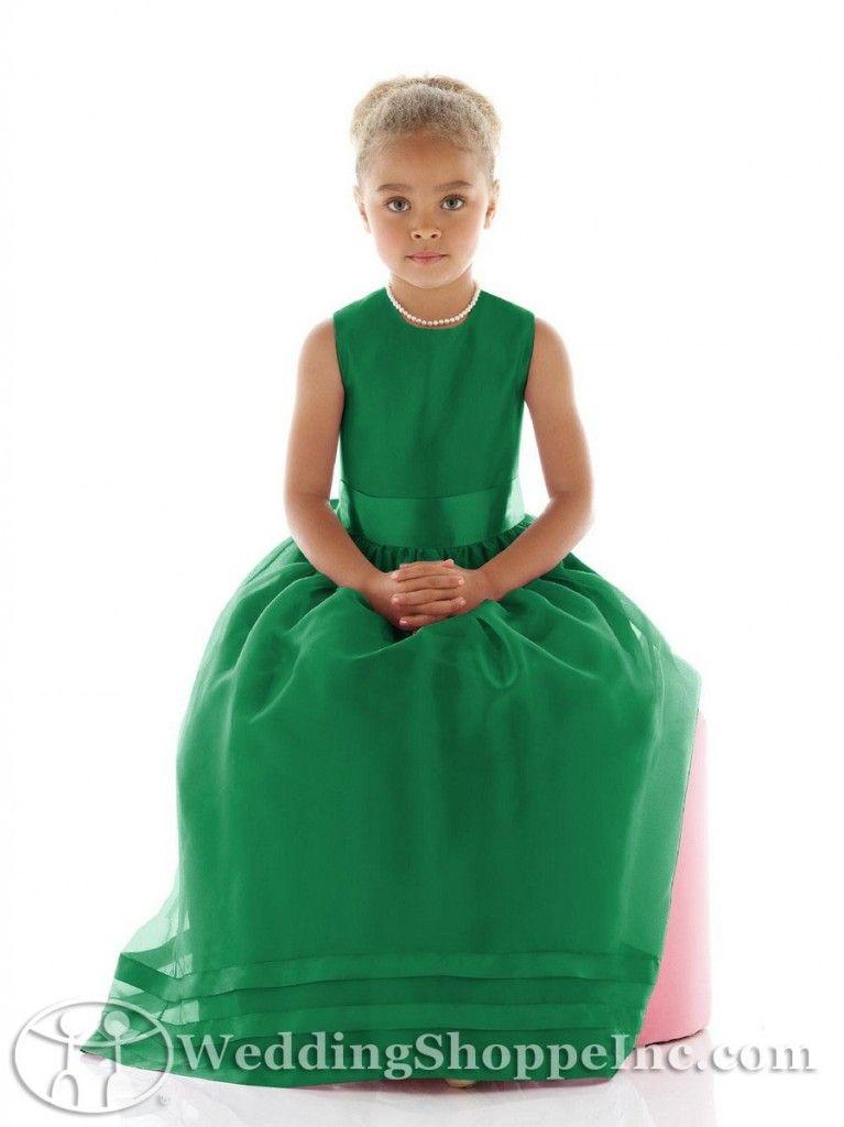 Green Flower Girl Dress - Wedding - Pinterest - Products- Girls ...