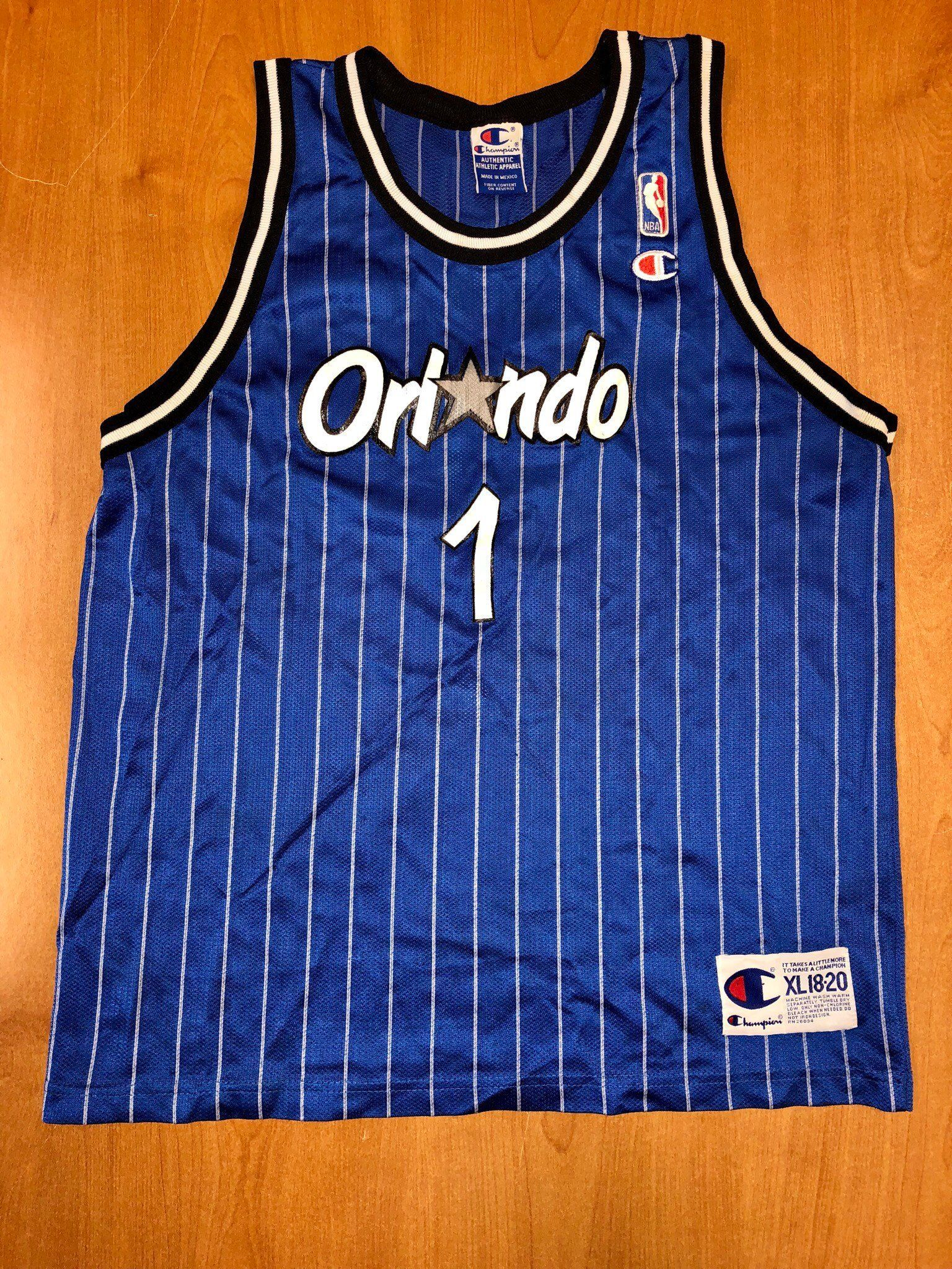 fc6b53a7739 Vintage 1998 Penny Hardaway Orlando Magic Champion Jersey Size Youth XL 40  shaquille o neal darrell armstrong shirt suns memphis tigers by ...