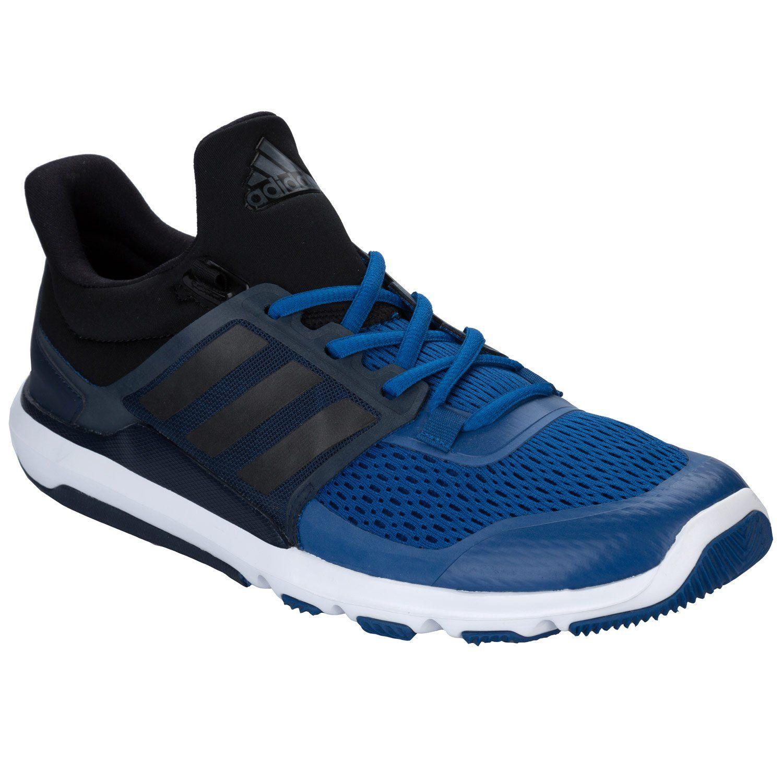 Adidas Men's Adipure 360.3 M, BLACK/BLUE/WHITE, 9 M US.