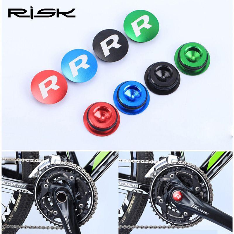 MTB Bicycle Crankset Teeth Plate Crank Cover Dustproof Waterproof Bikes Axis Cap