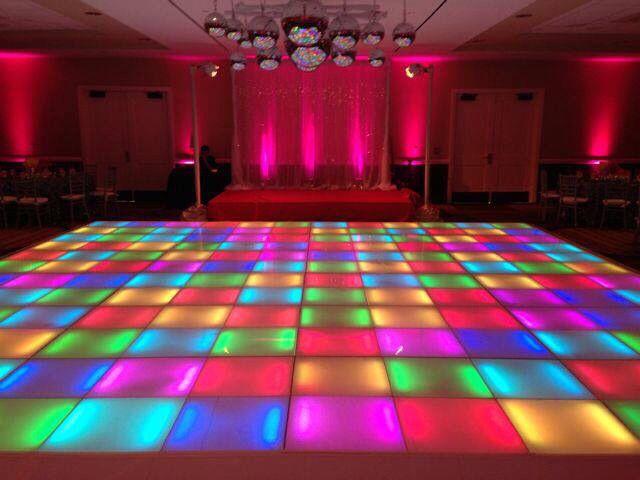 Led Dance Floor Disco Party Decorations Disco Dance Disco Decorations