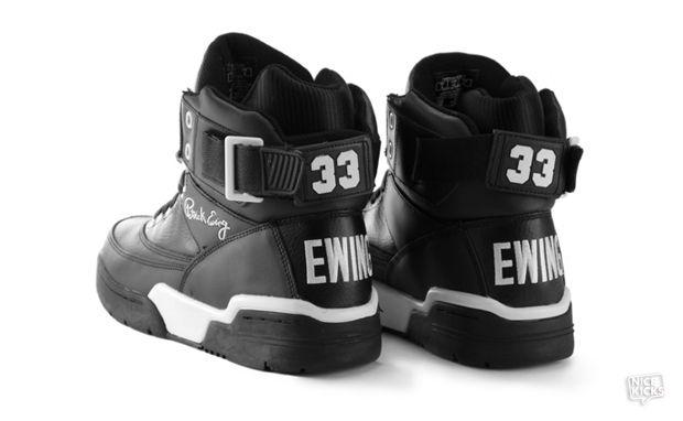 Ewing 33 Hi Black Leather \u0026 Blue Suede