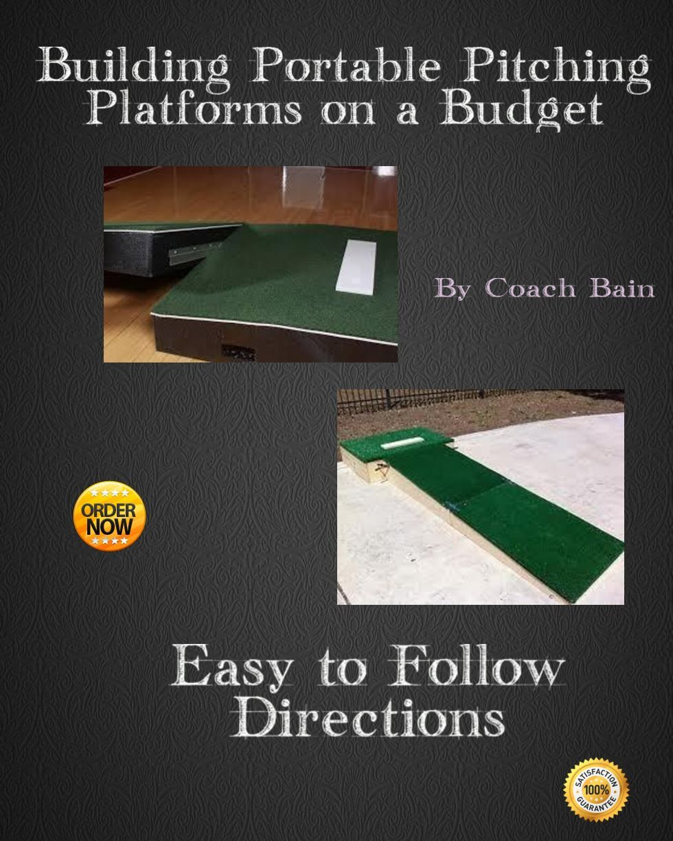 an easy to follow e book for building a portable pitching mound