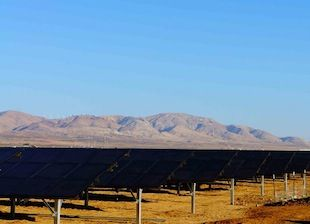 More Giant Sized Solar Goes On Line In California Solar Solar Projects Solar Energy
