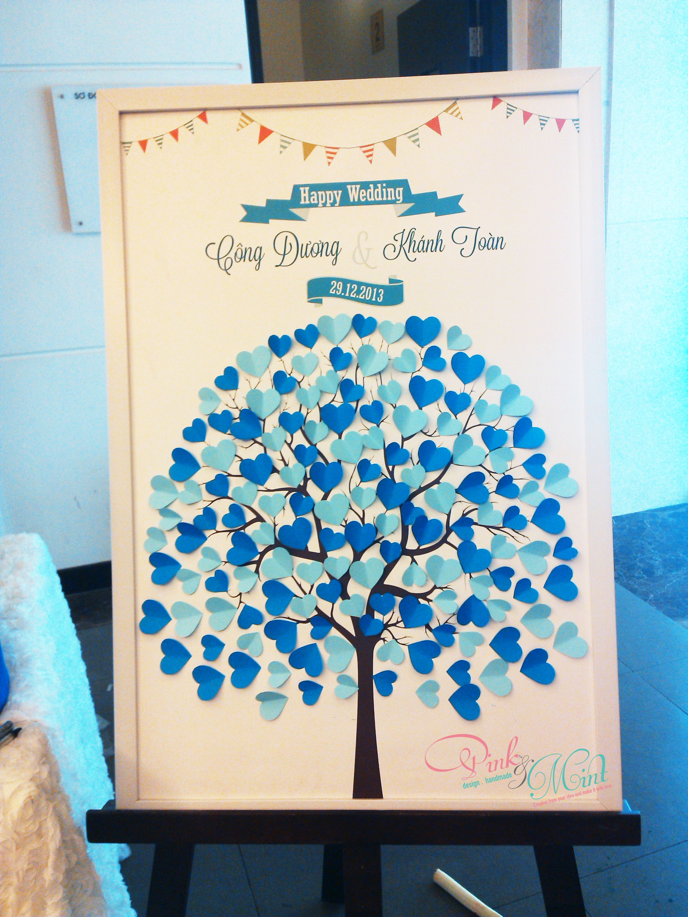 wedding tree by Pink and Mint