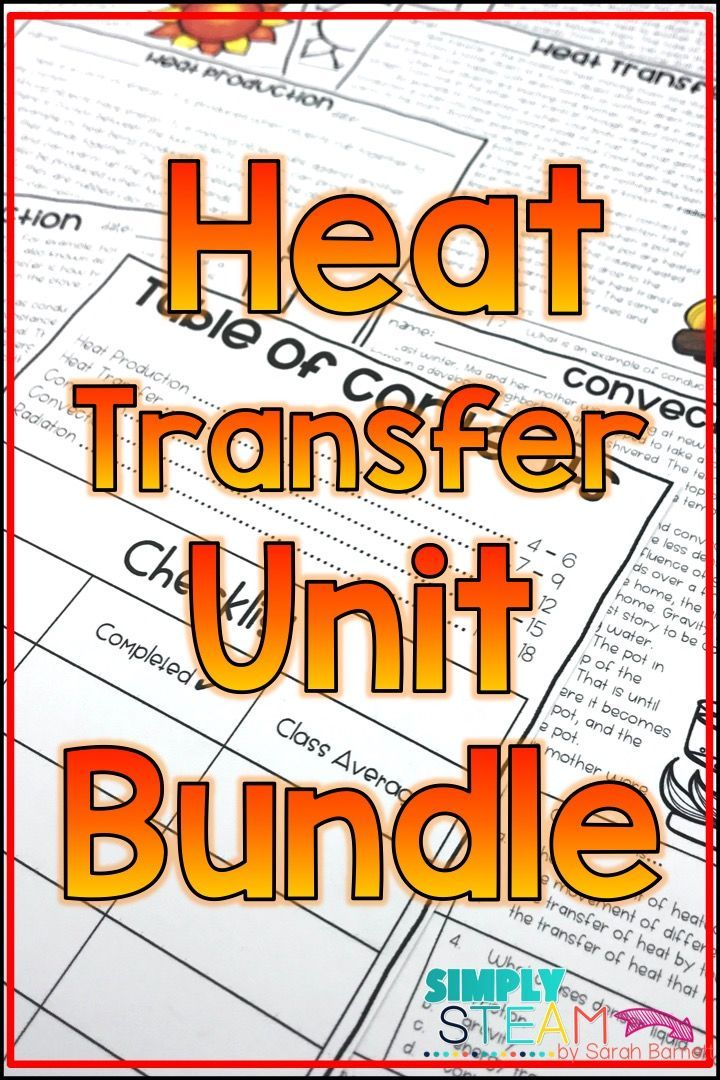 Charming Heat Transfer Bundle   Heat Energy   Thermal Energy Bundle | Thermal Energy,  Heat Energy And Stem Projects