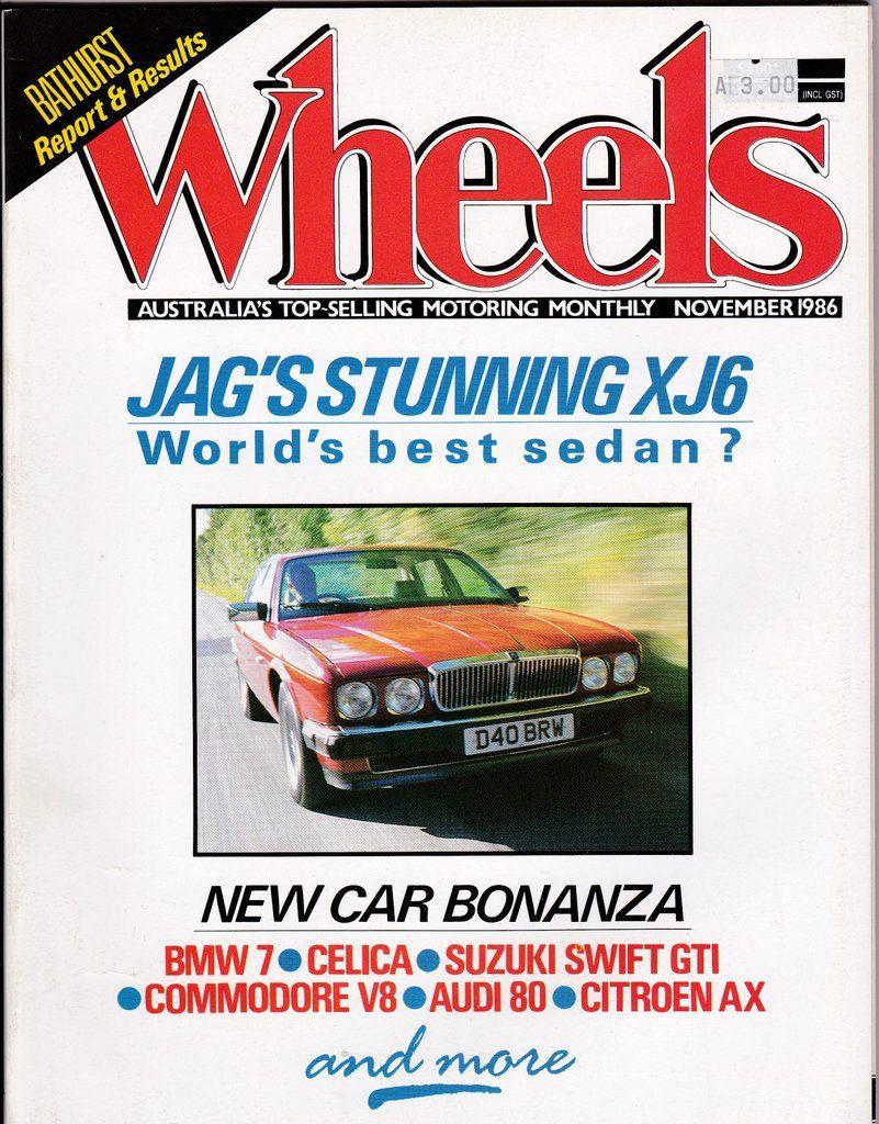 Gift For Him November 1986 Vintage Car Magazine Wheels Magazine ...