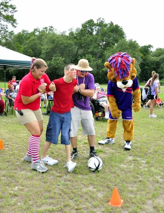 Camp Challenge with our Orlando City Lions.