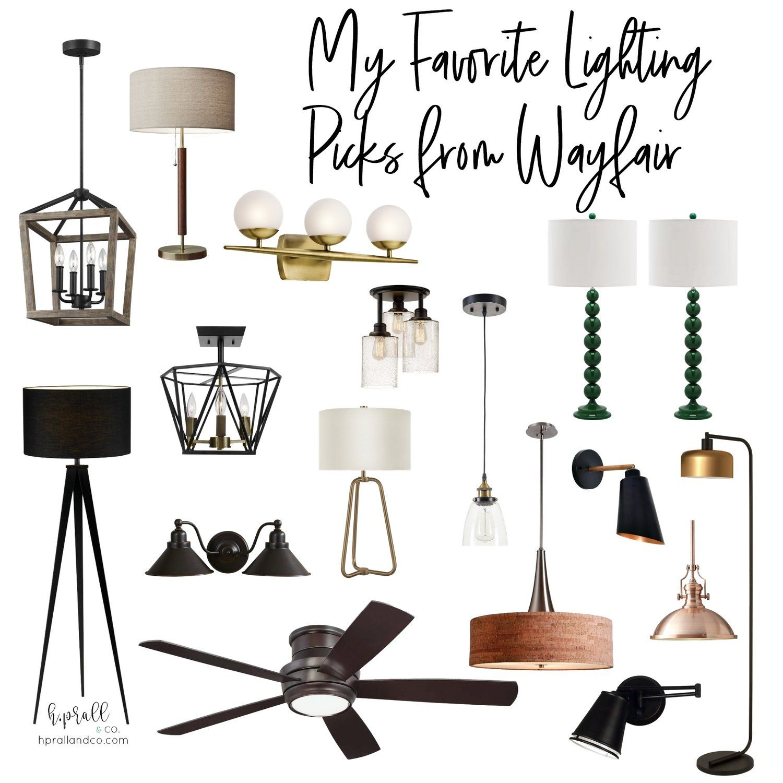 My Favorite Lighting Picks from Wayfair Bedroom light