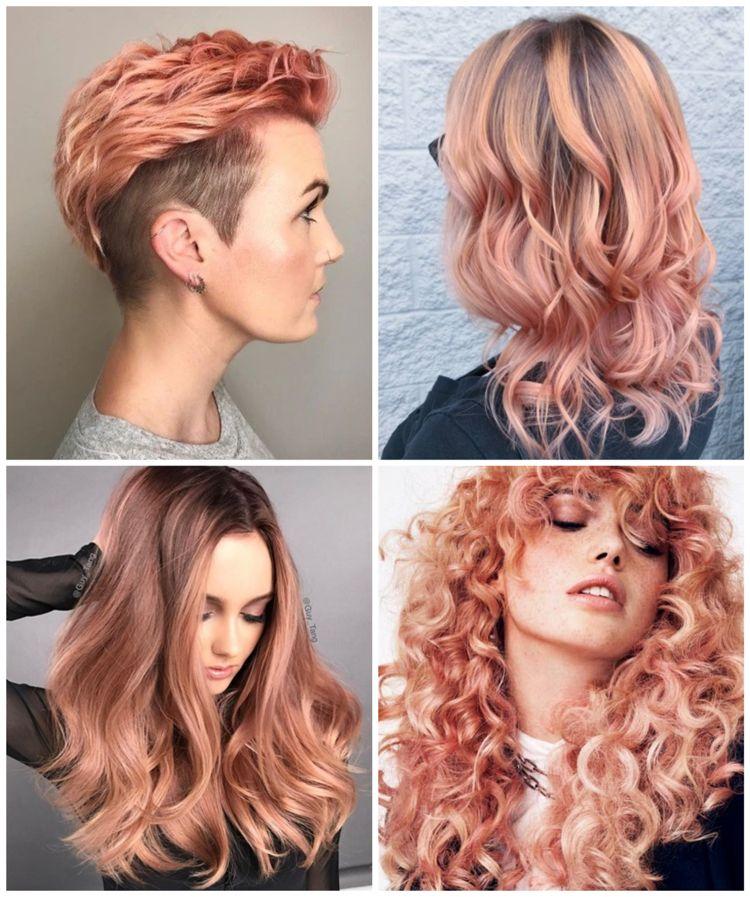 Haarfarben trends damen