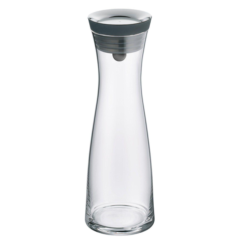 Wmf Basic Black Glass Water Carafe 1 5 Liter Water Carafe Glass Water Carafe Carafe