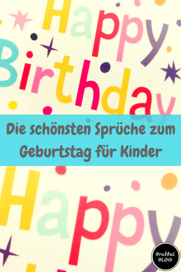 die sch nsten spr che zum geburtstag f r kinder. Black Bedroom Furniture Sets. Home Design Ideas