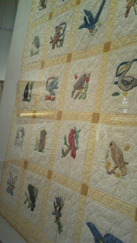 Quilt at Dallas Museum of Art