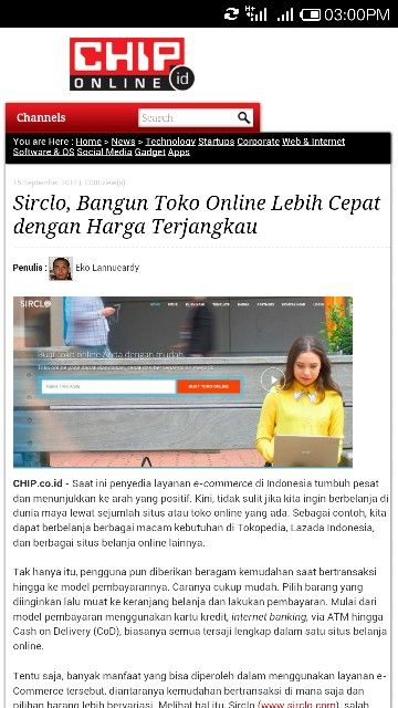 Sirclo On Chip Indonesia Www Chip Co Id Sirclo Free Workshop