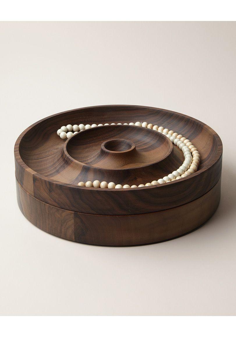 Walnut Jewelry Case by Saskia Diez