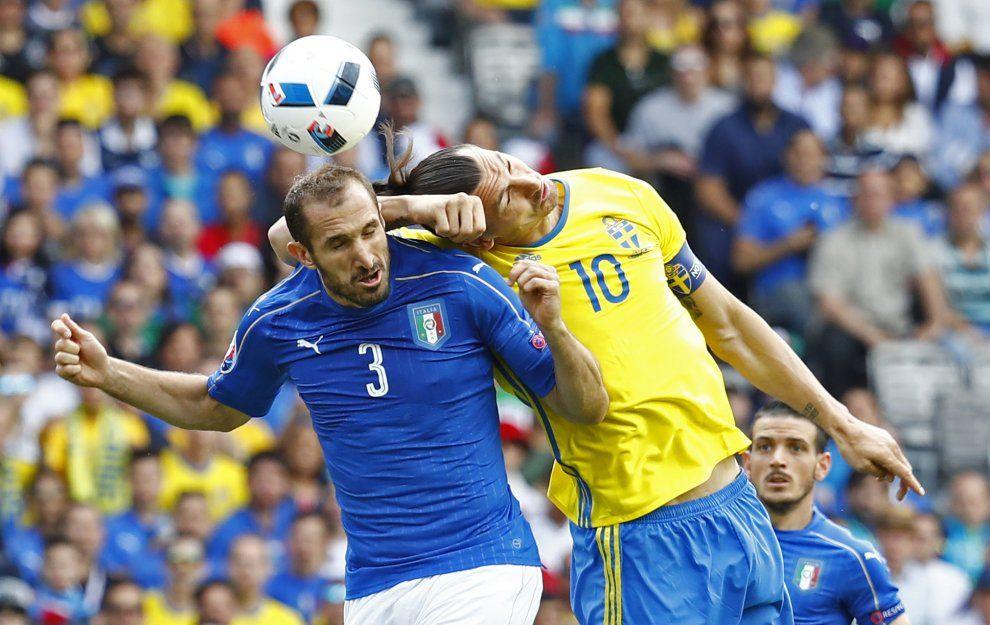 Italia-Svezia, il film della partita