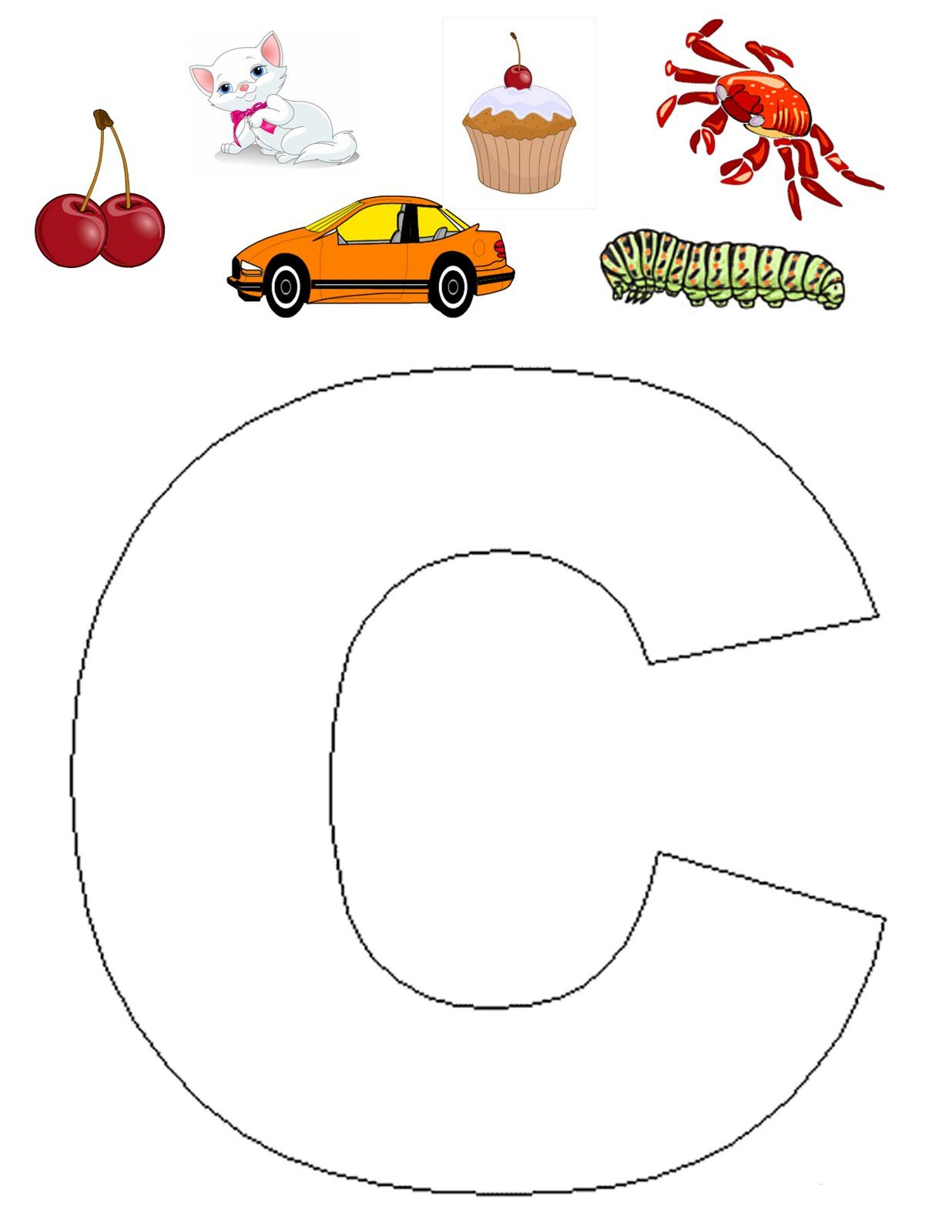 Letter C Craft Want To Make A Crab Show In The Picture