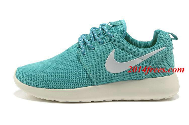 Womens Nike Roshe Run Tropical Twist Trace Blue Shoes