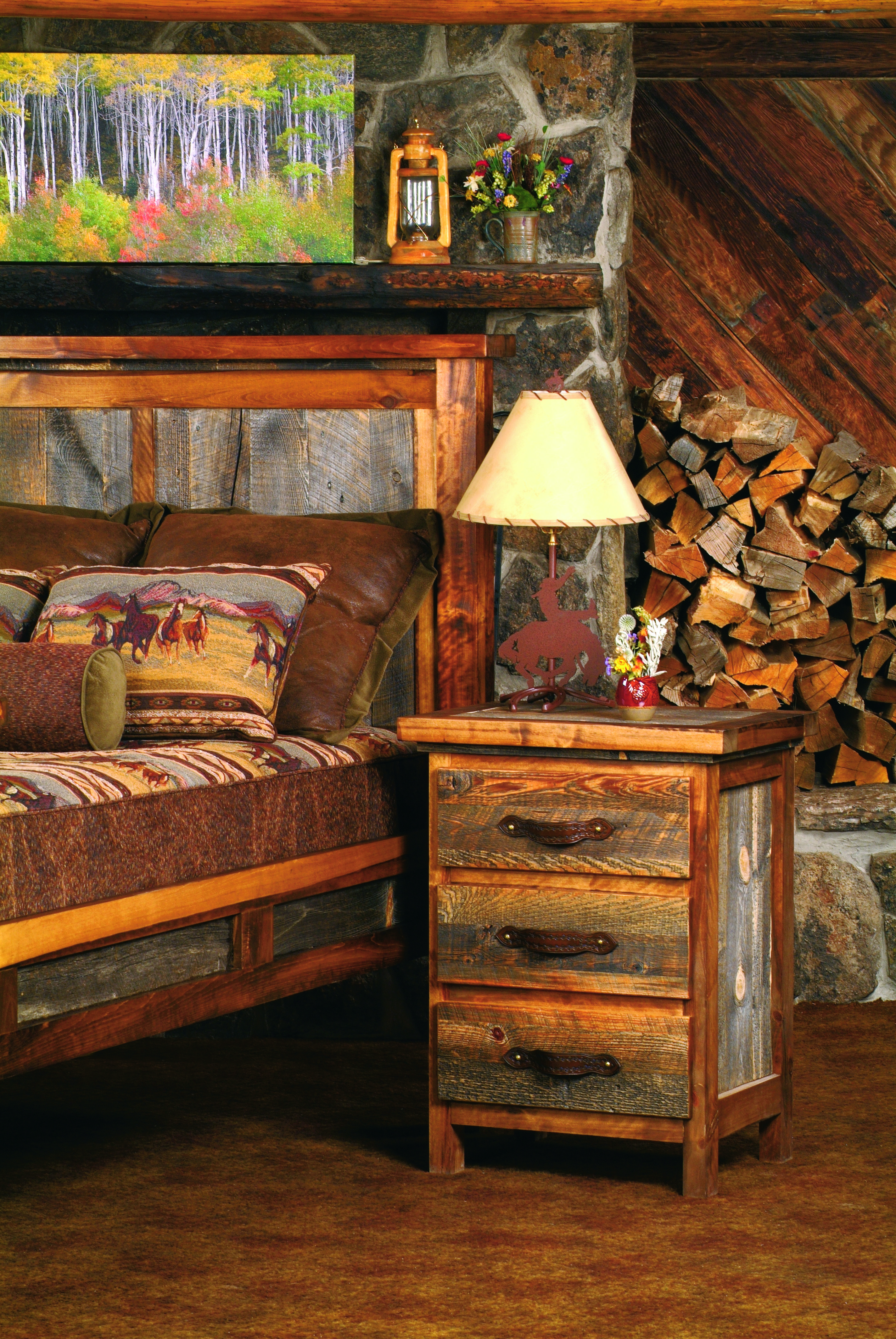 Mountain Woods Furniture Has A Wide Variety Of Log Cabin Style Furniture To  Offer! Visit LogFurnitureCo.com For More Pieces!