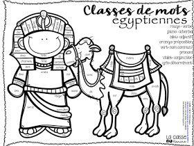 Nous sommes en train de terminer la thématique de l'Égypte